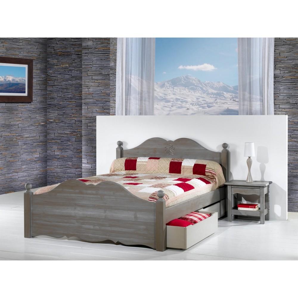 tiroir de rangement sous lit en 190 chatel. Black Bedroom Furniture Sets. Home Design Ideas