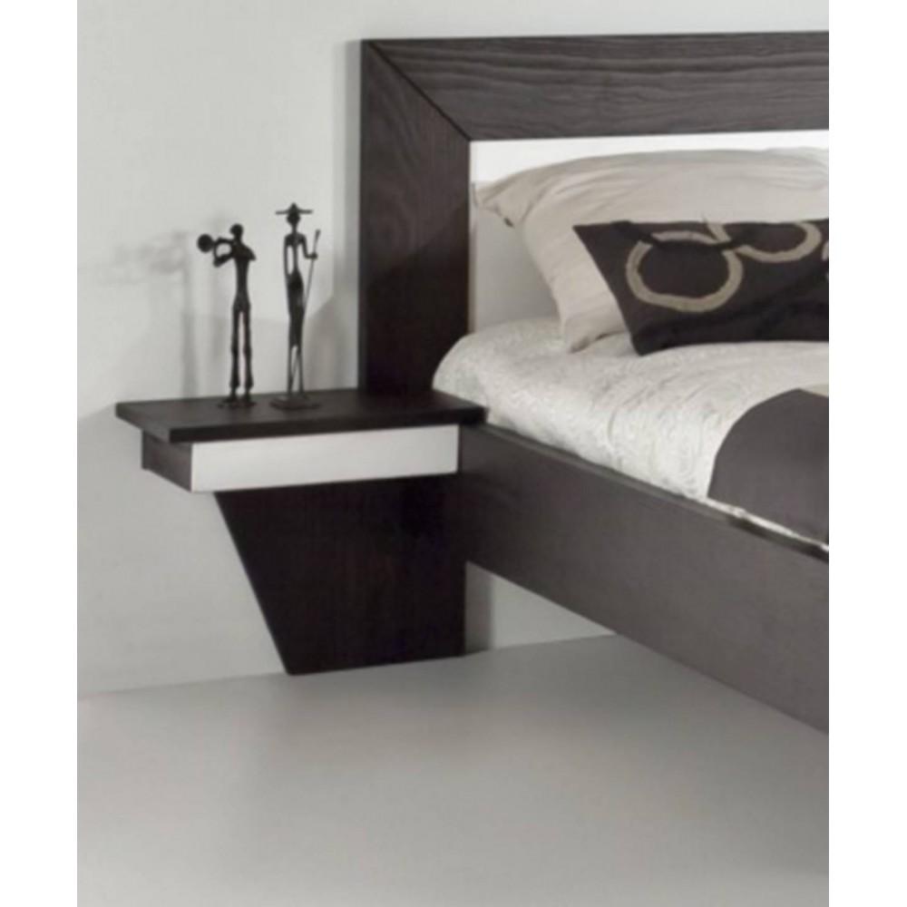 chevet suspendu gauche 1 tiroir duo. Black Bedroom Furniture Sets. Home Design Ideas