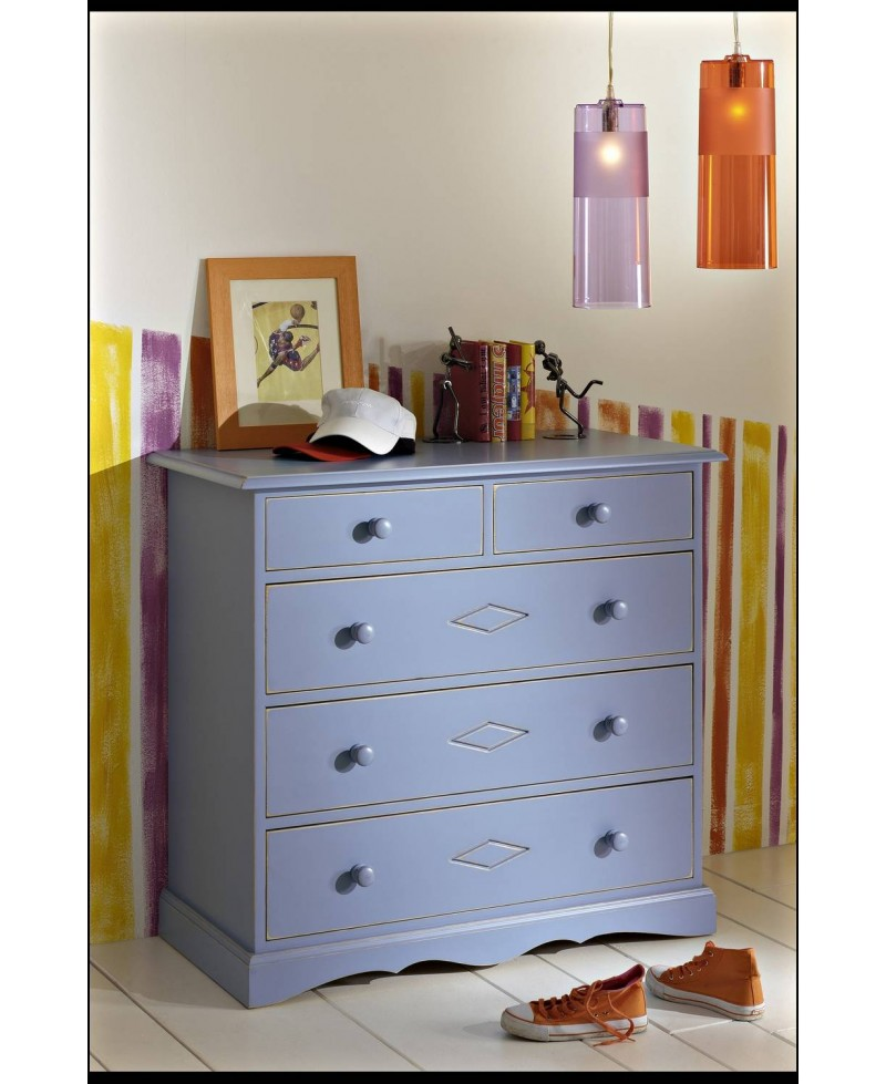 COMMODE 3+2 TIROIRS COTY