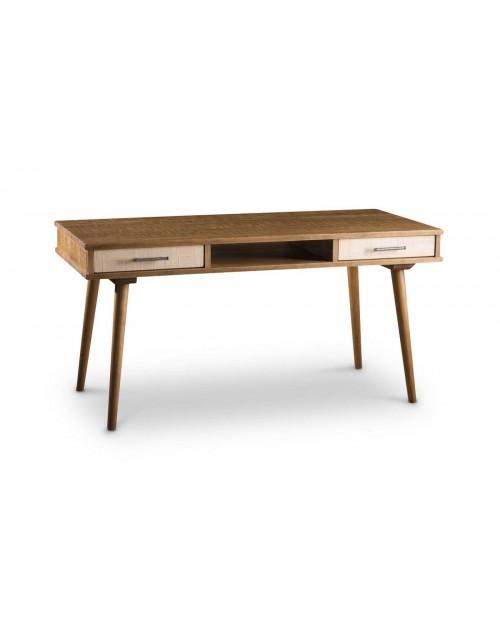 Table Bureau 2 Tiroirs Fjord